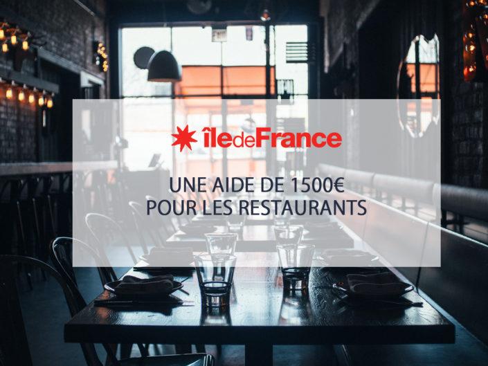 Aide de l'état pour la transition numérique des restaurants